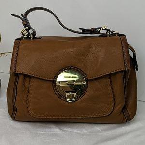 Michael Kors Pebbled Leather Large Carryall Bag